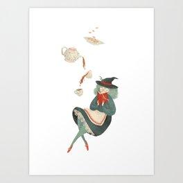 Witchy Tea Art Print