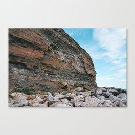 Rock Face Canvas Print