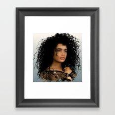 Lisa Bonet Framed Art Print