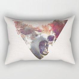daylight moon Rectangular Pillow