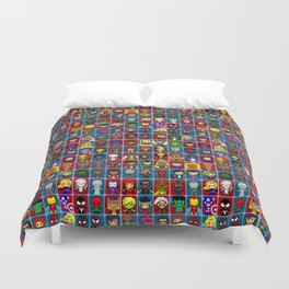 M A R V E L Comics Collection Duvet Cover
