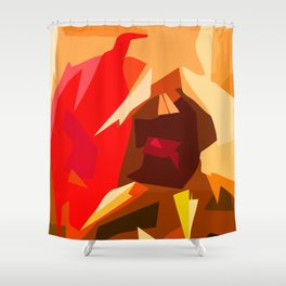 Magnetic Friendship Shower Curtain