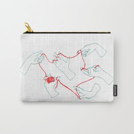 Fil rouge Carry-All Pouch