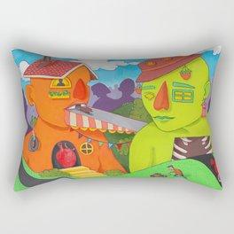 Avant City Rectangular Pillow