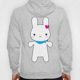 Super Cute Kawaii Bunny Hoody