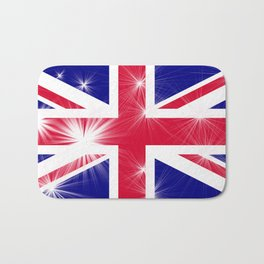 Union Jack Glamour Bath Mat