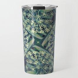 Green Plant Corner Travel Mug