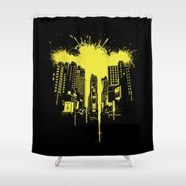 Times squash Shower Curtain
