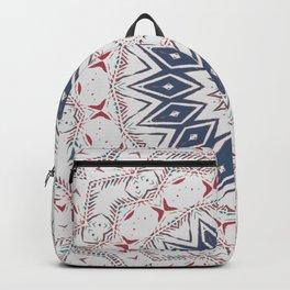 Dreamcatcher Berry & Blue Backpack