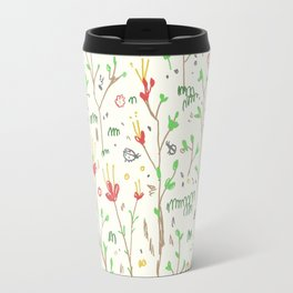 Woodland Floor Light Travel Mug