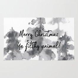 Merry Christmas ya filthy animal! Rug