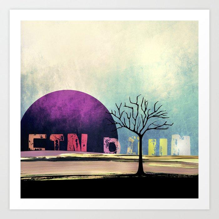 One Tree no5 Art Print
