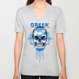 To The Core Collection: Greece Unisex V-Neck