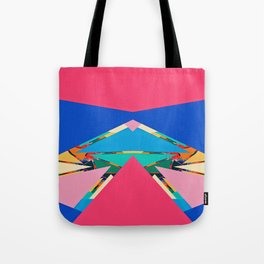 Colorful pieces Tote Bag