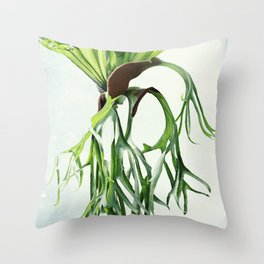 Staghorn Throw Pillow