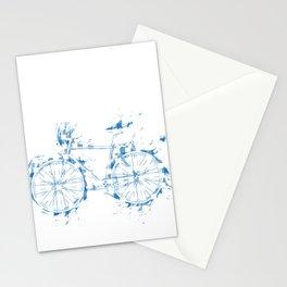 German Oktoberfest Bavarian bicycle Gift Idea  Stationery Cards