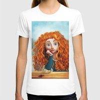 merida T-shirts featuring Merida The Brave by This Is Niniel Illustrator