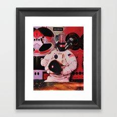 Sonic Explorer Framed Art Print