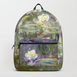 "Claude Monet ""Water lilies""(2) Backpack"