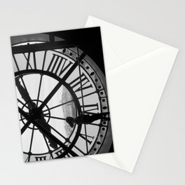 Clock at the Musee d'Orsay, Paris Stationery Cards