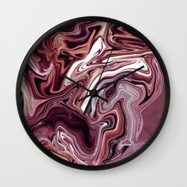 ABSTRACT LIQUIDS 58 Wall Clock