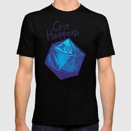 Crit Happens D20  T-shirt