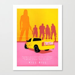 Kill Bill - Minimalist Canvas Print