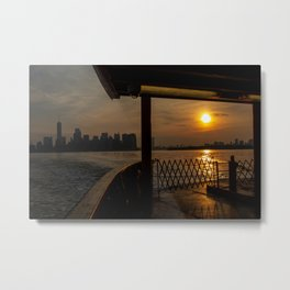 NYC Morning Metal Print