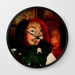 Court jester Wall Clock