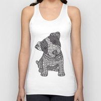 jack russell Tank Tops featuring Jack Russell by DiAnne Ferrer