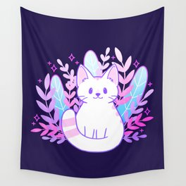 Plant Cat Wall Tapestry