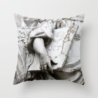 moscow Throw Pillows featuring Statues Moscow by RMK Photography