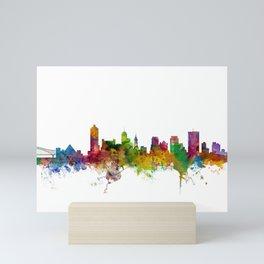 Memphis Tennessee Skyline Mini Art Print