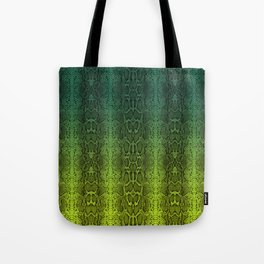 Ombre Snake Tote Bag