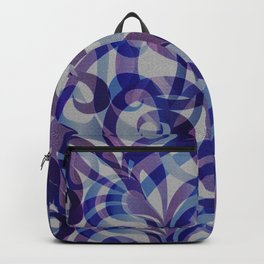 Floral Abstract G287 Backpack