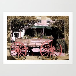 City Market Savannah Art Print