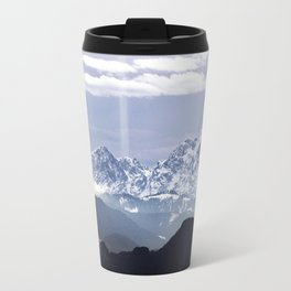 Bavarian Alps, Germany. Travel Mug