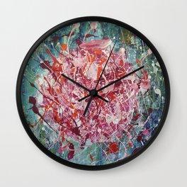 Fire ball Wall Clock