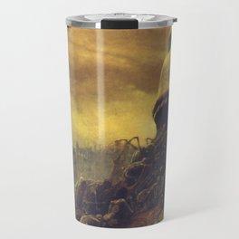 Untitled (Behemoth), by Zdzisław Beksiński Travel Mug