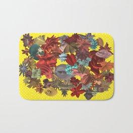 Harmonic Flowers Bath Mat
