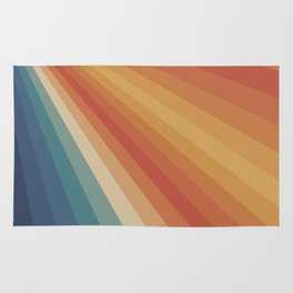 Retro 70s Sunrays Rug