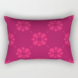 Abstract geometric Pattern 87 Rectangular Pillow