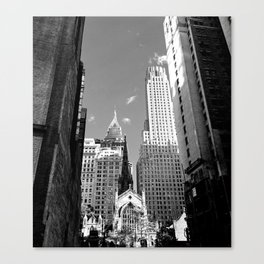 Trinity Wall Street - Manhattan Canvas Print
