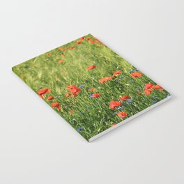 Field of Poppies Notebook