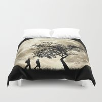 arnold Duvet Covers featuring Full Moon by Phil Perkins