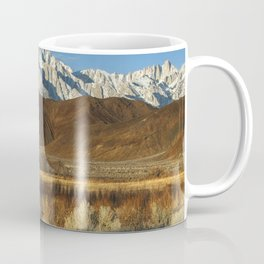Mt Whitney And Alabama Hills Sunrise 2-26-19 Coffee Mug