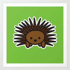 Cute Hedgehog Art Print