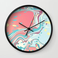 Lolipop Marble Wall Clock