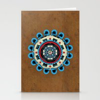 sacred geometry Stationery Cards featuring Sacred Geometry by Angel Decuir