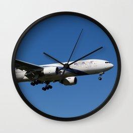 El Al Boeing 777 Wall Clock
